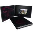 新宇P系列-5寸皮装视频卡书,适合商务答谢会、发布会、品牌推介、招商会等活动