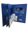 新宇S系列-5寸精装视频卡书(多页精装),适合各种商务场合、发布会、品牌推介、招商会等活动