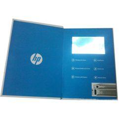 HP产品推介会视频卡书定制